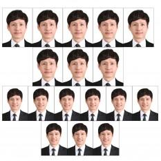 증명사진인화 여권에 들어가는여권사진인화 8매3.5x4.5 포토샵만족100%